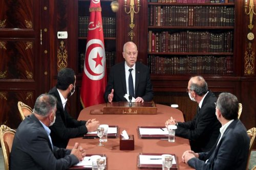 """El presidente de Túnez señala que """"ciertos partidos"""" quieren infiltrarse…"""