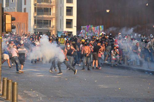 Líbano: 56 heridos en las protestas con motivo del aniversario…