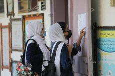 Comienza el nuevo curso escolar en Gaza [Mohammed Asad/Monitor de Oriente].