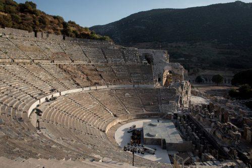 El antiguo Teatro de Éfeso de Turquía reabre sus puertas…