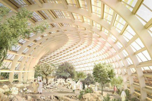 El jardín botánico de Omán será el mayor de la…