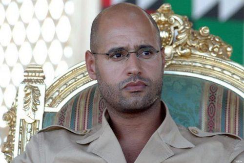 El hijo de Gadafi volverá a la política