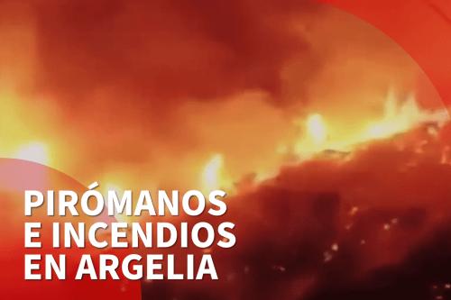 6 muertos en los incendios forestales de Argelia, según el…