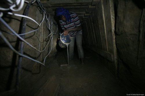 3 trabajadores palestinos encontrados muertos en el túnel fronterizo entre…