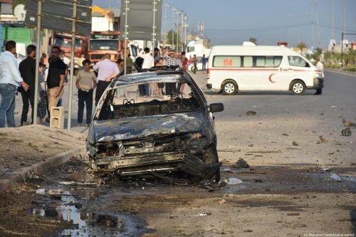 Un convoy de la coalición de Irak es atacado con…