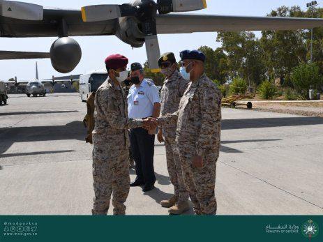 Los militares saudíes y emiratíes han llegado a Grecia para iniciar ejercicios conjuntos con los militares griegos y egipcios [@modgovksa/Twitter].