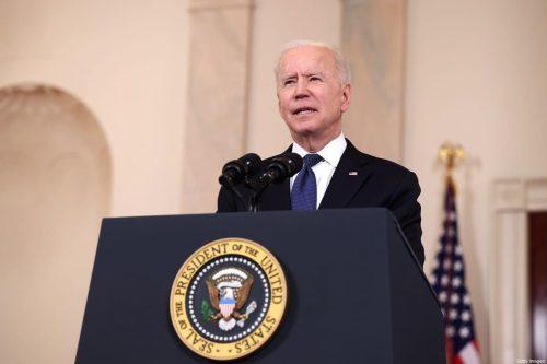 Biden asegura que la solución de dos Estados garantiza la…