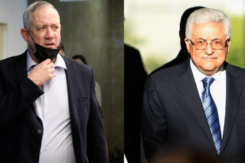 La reunión entre Abbas y Gantz fue vergonzosa