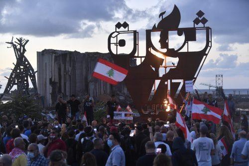 Simulacro de guerra civil en el Líbano