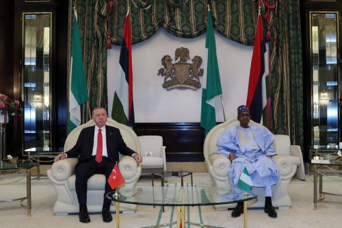 Nigeria recibe al presidente de Turquía con una ceremonia oficial