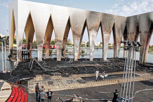 Egipto: Incendio en el recinto del Festival de Cine de…