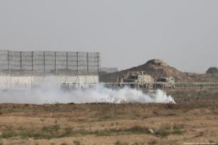Pelo menos 74 palestinos ficaram feridos pela repressão israelense na 66ª sexta-feira da Grande Marcha do Retorno e pelo fim do cerco à Gaza, informou o Centro Palestino para os Direitos Humanos (PCHR).