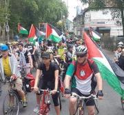 Proibição a passeio ciclístico pró-Palestina no Reino Unido é na verdade uma decisão pró-Israel