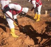 Cova coletiva é descoberta ao sul de Trípoli, capital da Líbia