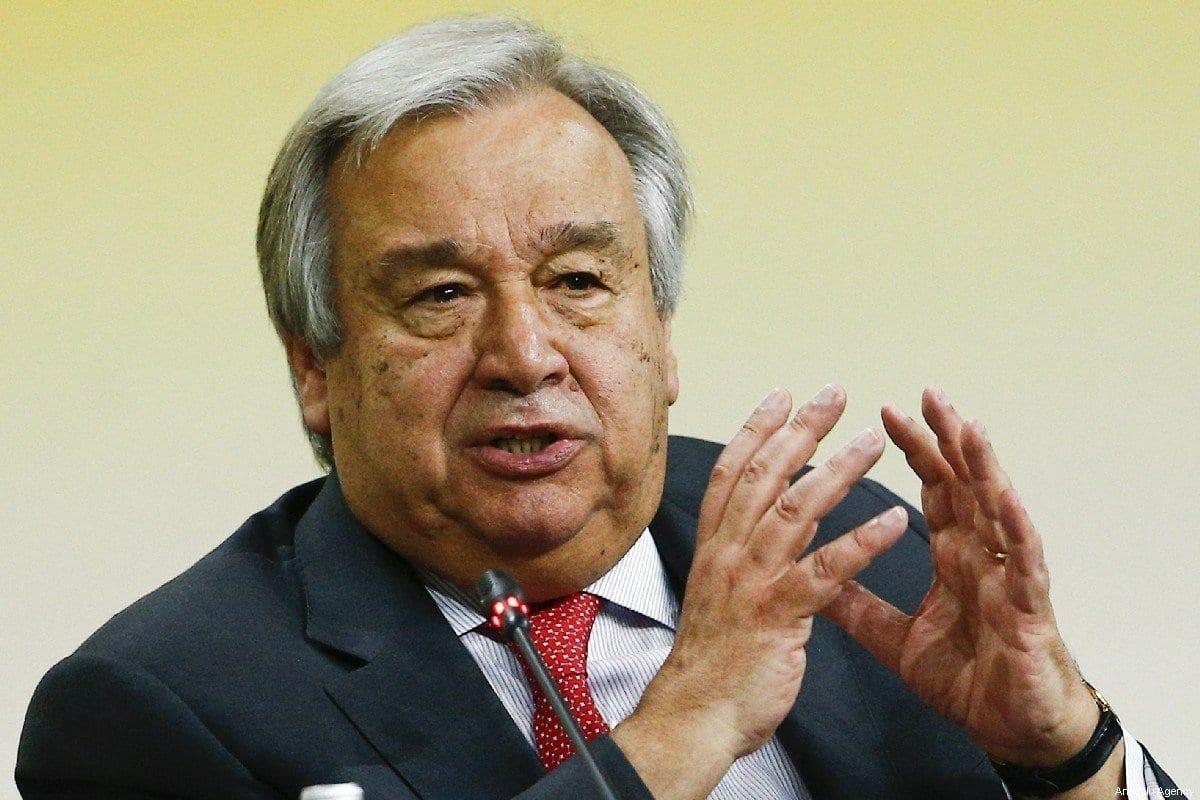Secretário-Geral da ONU António Guterres participa do Fórum Econômico Internacional em São Petersburgo, Rússia, 6 de junho de 2019 [Sefa Karacan/Agência Anadolu]