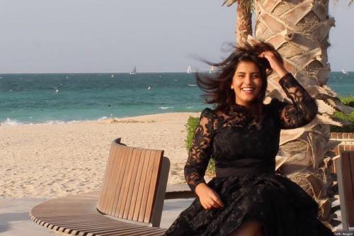 Ativista saudita Loujain al-Hathloul [AFP/Getty Images]