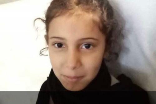 Noura, uma garota saudita, foi morta após um trator demolir sua casa enquanto ela dormia, 12 de junho de 2020 [Twitter]