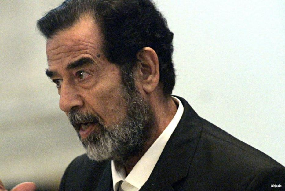 Ex-Presidente do Iraque Saddam Hussein [foto de arquivo]