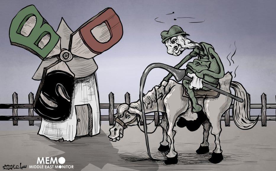 Israel sem poder enfrentando BDS - Cartum [Sabaaneh /Monitor do Oriente Médio]