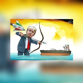 Card publicado pelo embaixador do Irã na Venezuela, Hojat Soltani