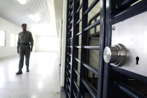 Porta de uma cela de prisão, em 8 de agosto de 2019 [foto de arquivo]