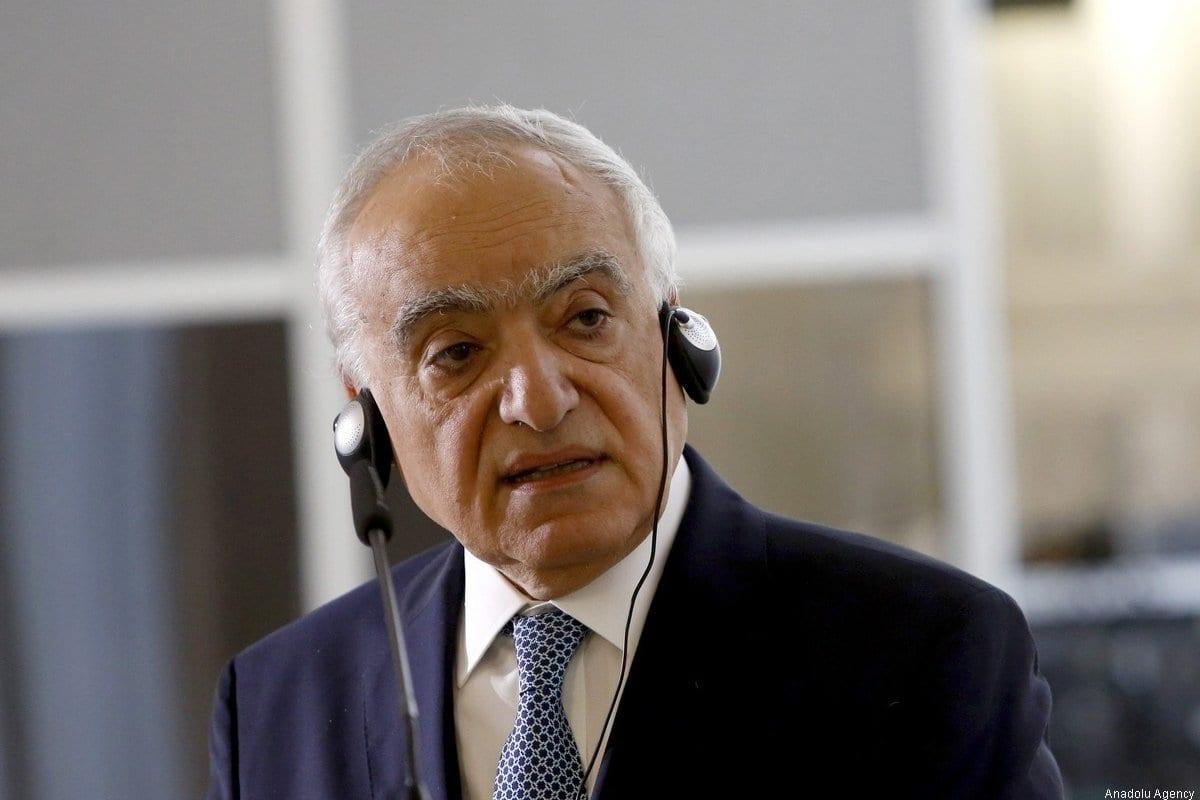 Enviado Especial da ONU para a Líbia, Ghassan Salame [Agência Riccardo de Luca / Anadolu]