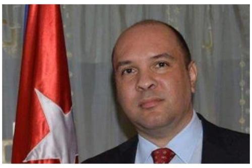 Embaixador de Cuba no Líbano, Alexander Moraga [Twitter]