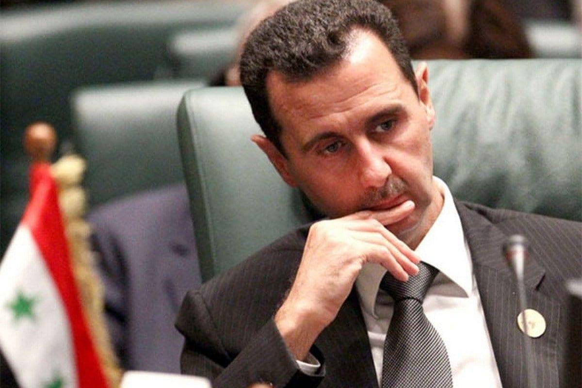 Presidente da Síria Bashar al-Assad, 15 de abril de 2016