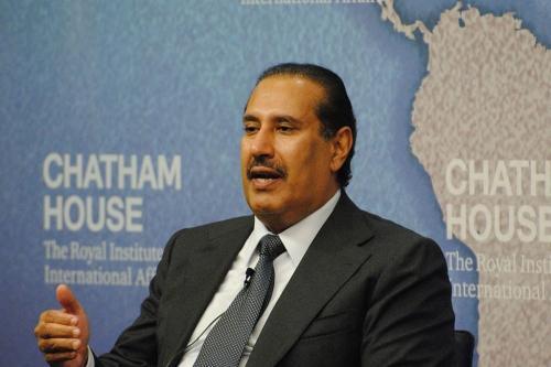 Ex-Primeiro Ministro do Qatar e Ministro das Relações Exteriores Hamad Bin Jassim [Wikipedia]