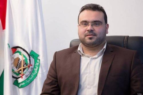 Porta-voz do Hamas, Hazem Qasem [Twitter]