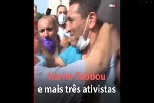 Argélia libera líder do movimento de protesto