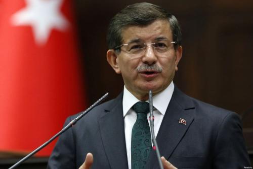 Ex-Primeiro-Ministro da Turquia Ahmet Davutoglu [Agência Anadolu]