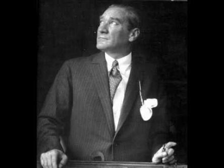 Ex-presidente da Turquia Mustafa Kemal Ataturk
