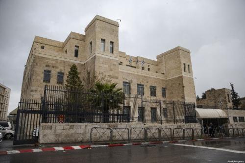 Tribunal israelense em Jerusalém em 31 de março de 2019 [Faiz Abu Rmeleh / Agência Anadolu]