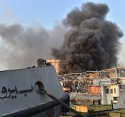 Explosão no porto deixou 300.000 pessoas desabrigadas, relata governador de Beirute