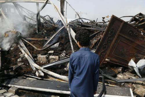 Houthis reivindicam ataque a aeronave perto da fronteira do Iêmen com a Arábia Saudita