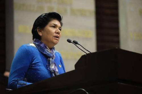 Deputada mexicana Maria Eugênia [Arquivo pessoal]