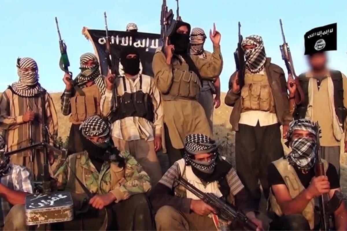 Militantes afiliados ao Daesh no Sinai, Egito [Foto de arquivo]