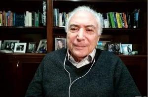 Ex-presidente Michel Temer é chefe da missão humanitária do Brasil ao Líbano
