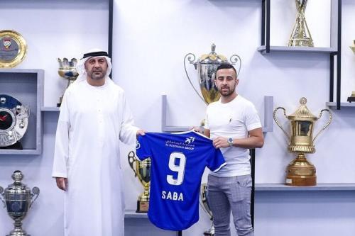 O jogador israelense Diaa Sabia foi contratado pelo Al-Nasr de Dubai. O primeiro israelense a assinar com um time árabe [@ Ostrov_A / Twitter]