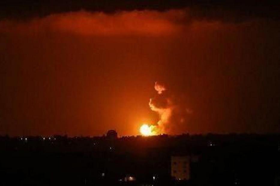 Explosão em Teerã, capital do Irã, 9 de julho de 2020 [Twitter]