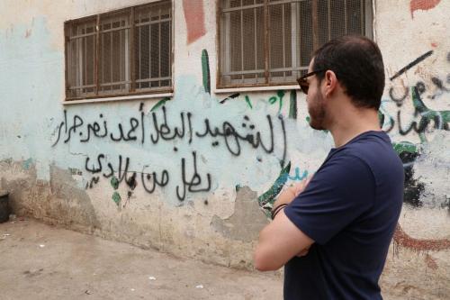 Juliano Medeiros na Palestina [Foto arquivo pessoal]