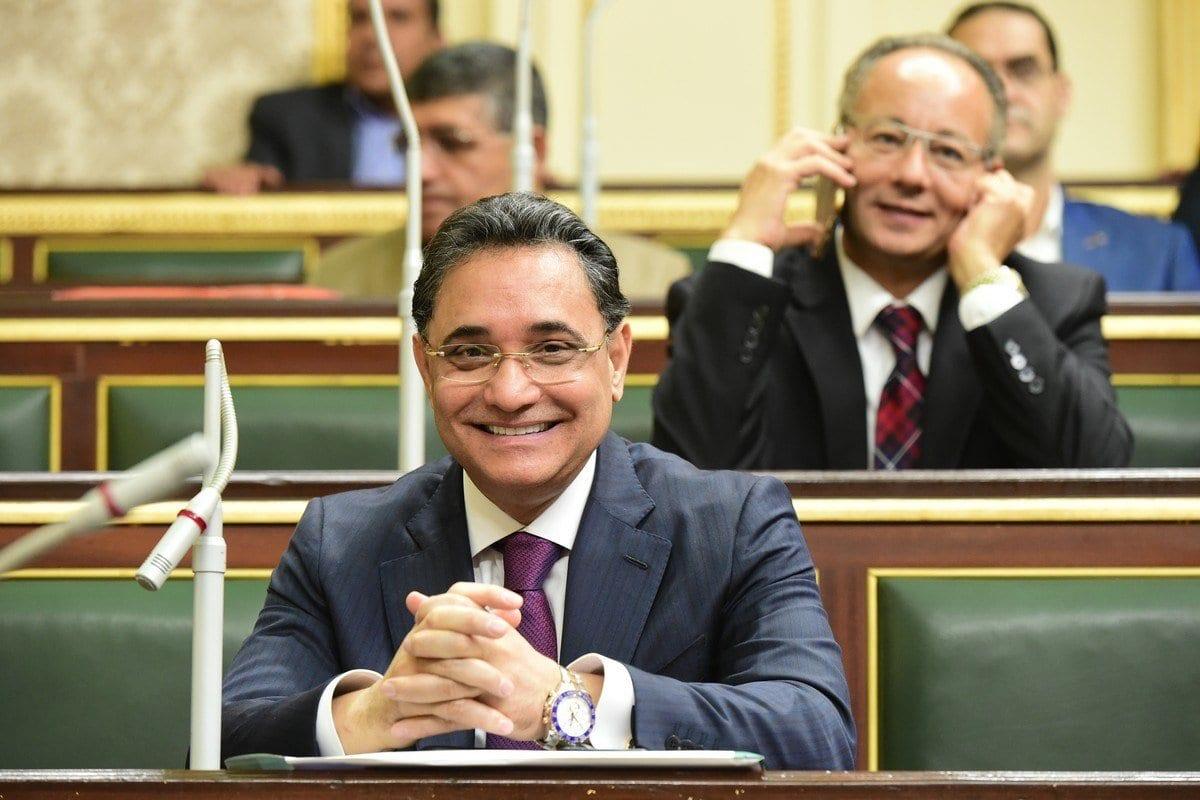 Abdul Rahim Ali, jornalista e ex-parlamentar do Egito, em 2 de outubro de 2019 [AbdElrehem Al/Flickr]