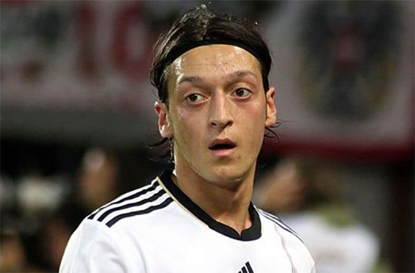 Mesut Ozil, jogador de futebol [Foto de arquivo]