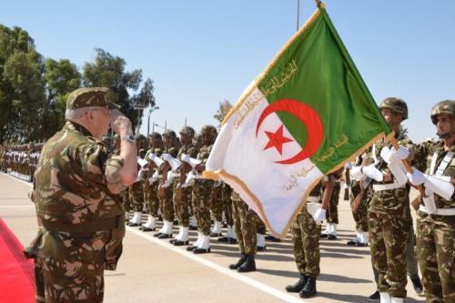 Exército da Argélia [foto de arquivo]