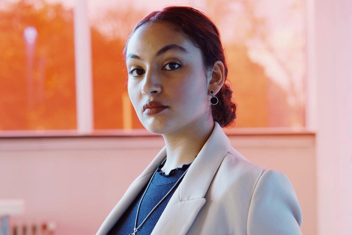 Anja Saleh, fundadora da TAVII [Muhammad Salah Abdulaziz]