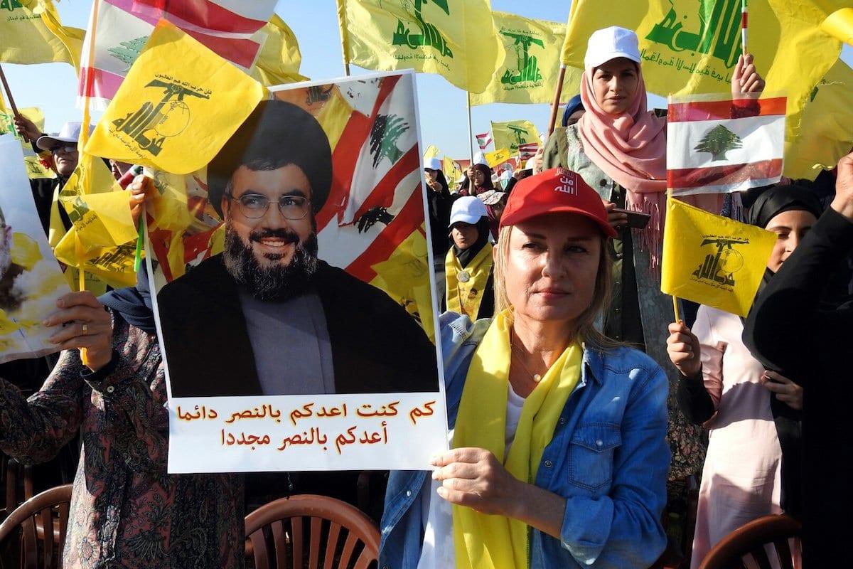 Apoiadores do Hezbollah no Líbano, 13 de agosto de 2017 [Ali Dia/Agência Anadolu]