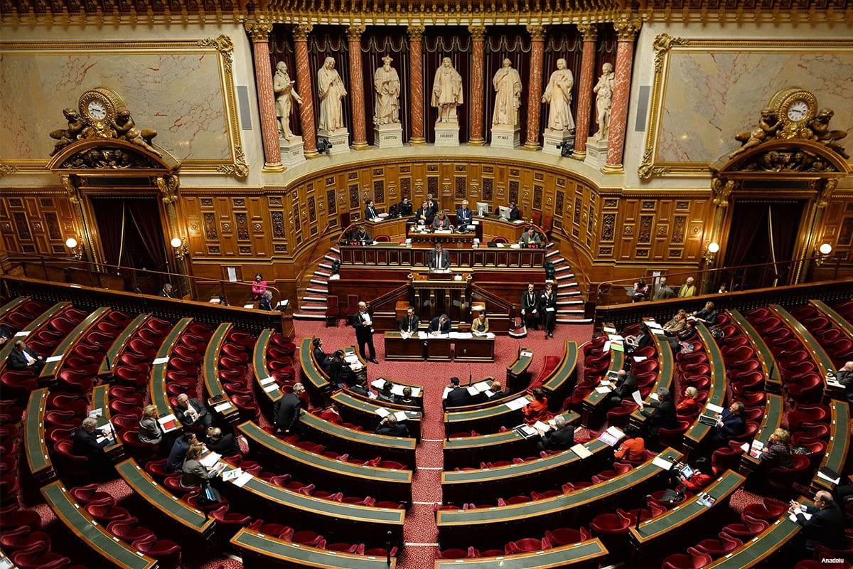 Senado da França [foto de arquivo]