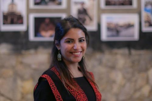 Prisioneira política, jornalista Solafa Magdy [@ ganobi / Twitter]