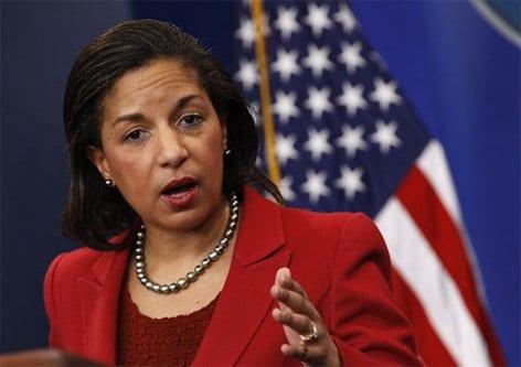 Susan Rice, ex-embaixadora dos Estados Unidos na ONU [Foto de Arquivo]